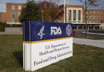 Exterior of the FDA