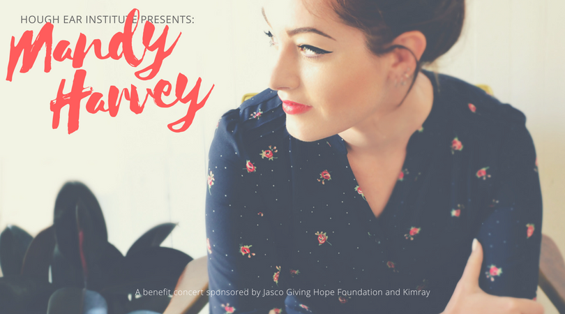 Hough Ear Institute Presents Mandy Harvey