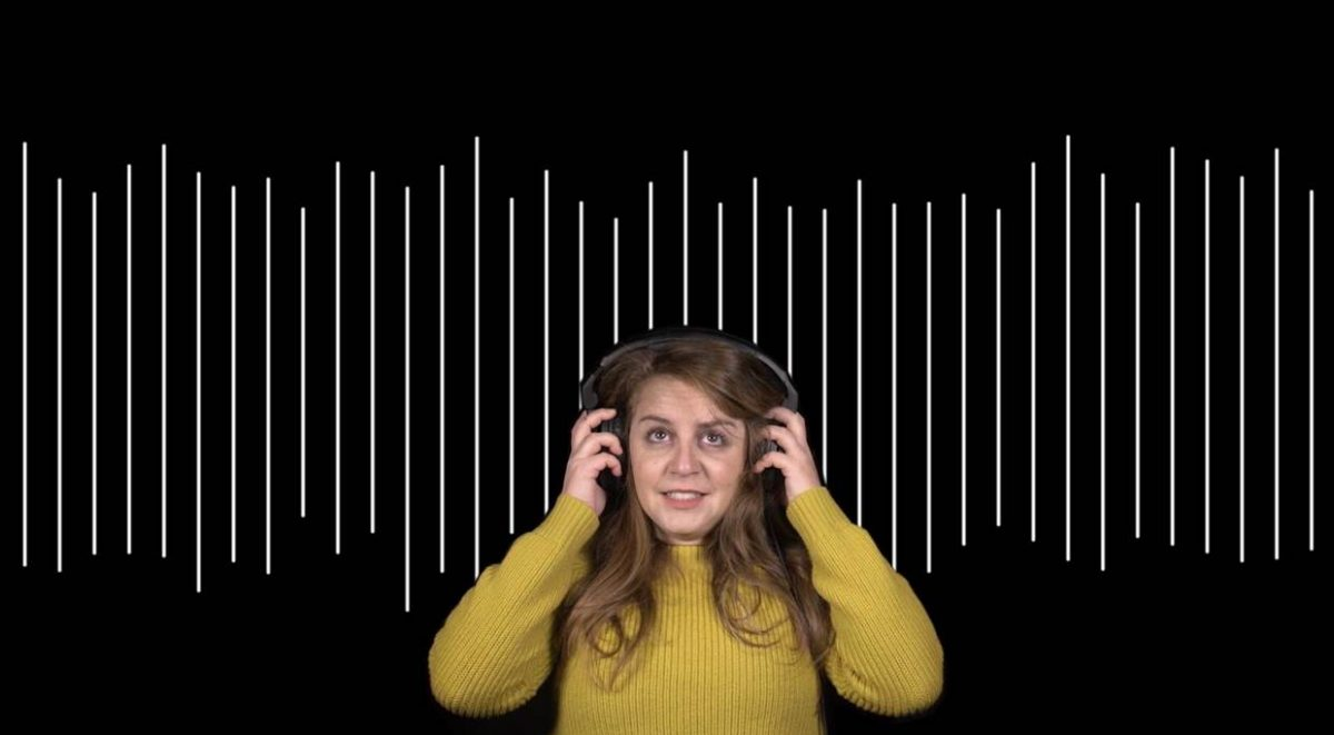Listening to sound waves of what tinnitus sounds like