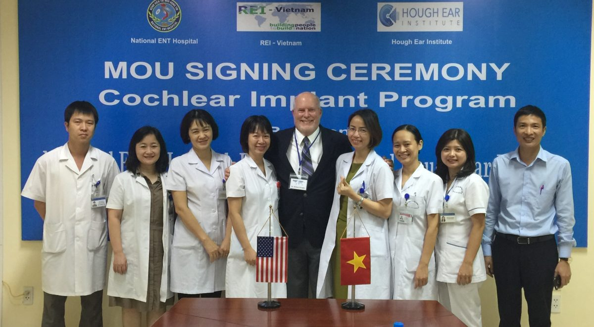 Hanoi, cochlear, implant, Vietnam, OKC, Oklahoma, humanitarian, ENT, ceremony, worldwide, research